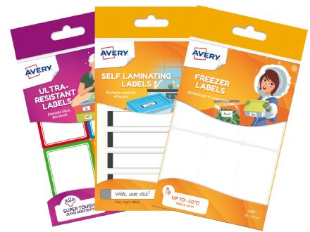 Home  Labels Bundle - Freezer labels / Waterproof Labels / Resistant Labels